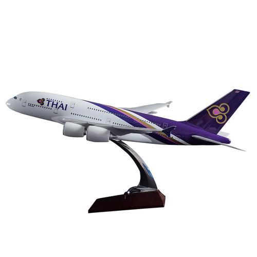 Thai Airways Airbus A380-800 Resin Aircraft Model (45 cm) 1/160