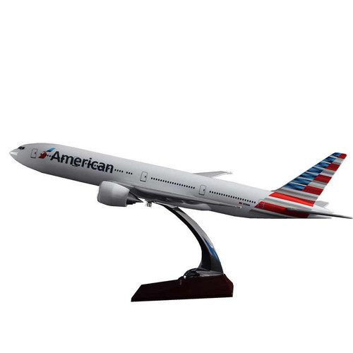 American Airlines Boeing 777-300ER Resin Aircraft Model (47 cm) 1/160