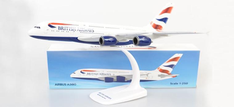 Herpa British Airways Airbus A380-800 1/250 612814