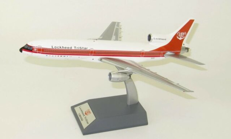 Inflight200 L-1011 Tristar Demonstrator N1011 (With Stand) and Anniversary Coin 1/200 IF-L1011-50