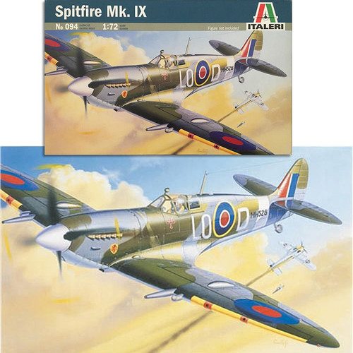 Italeri Spitfire Mk.IX 094 1:72 Aircraft Model Kit