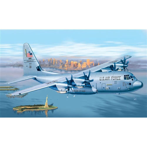 Italeri C-130J Hercules 1255 1/72 Aircraft Model Kit