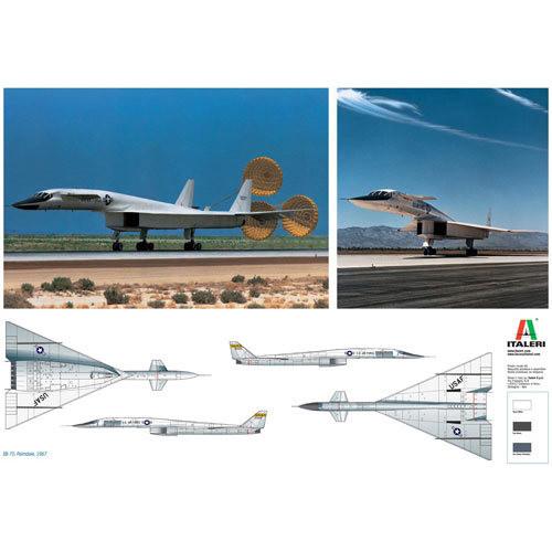 Italeri XB-70 Valkyrie 1282 1/72 Aircraft Model Kit