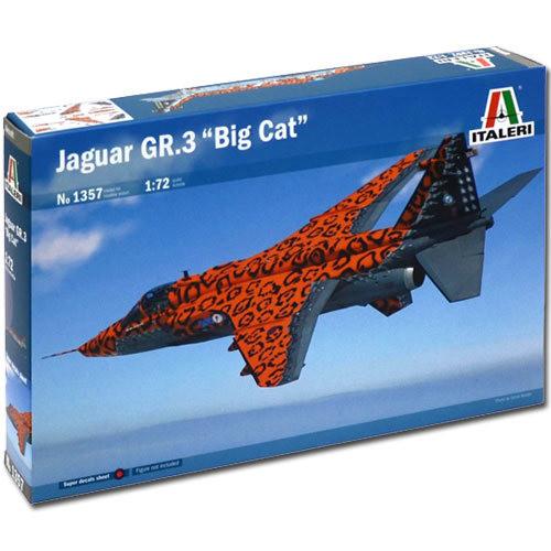 Italeri Jaguar GR3 Big Cat 1357 1/72 Aircraft Model Kit