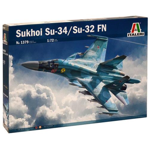 Italeri Sukhoi SU-34 Fullback 1379 1:72 Aircraft Model Kit