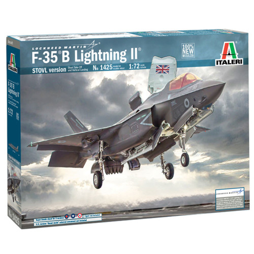 Italeri RAF Lockheed Martin F-35B Lightning 1425 II 1:72 Plastic Model Plane Kit