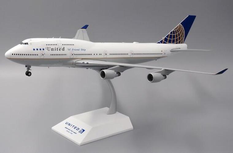 "Inflight200 United Airlines Boeing 747-400 ""Last Flight"" N118UA 1/200 XX2203"