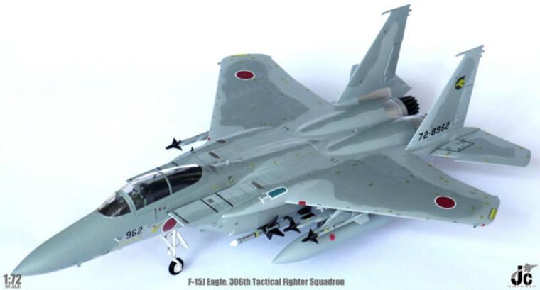 JC Wings  F-15J Eagle 306TH Tactical Fighter SQUADRON Komatsu Air Base 1/72 JCW72F15001