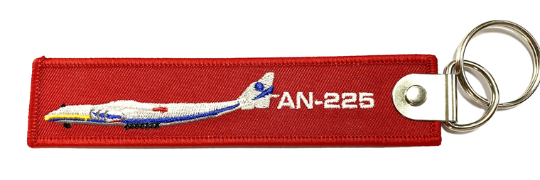 The AN-225 Remove Before Flight Keychain