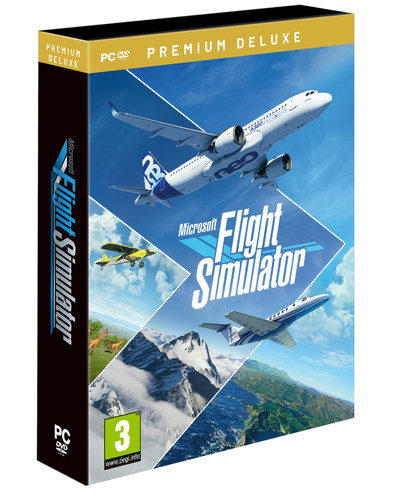 Microsoft Flight Simulator 2020 – Premium Deluxe Version (for PC) DVD VERSION