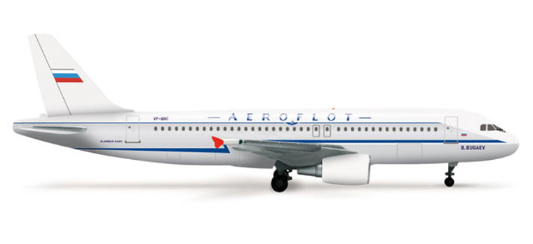 Herpa Aeroflot Retrojet Airbus A320 1/500 525930