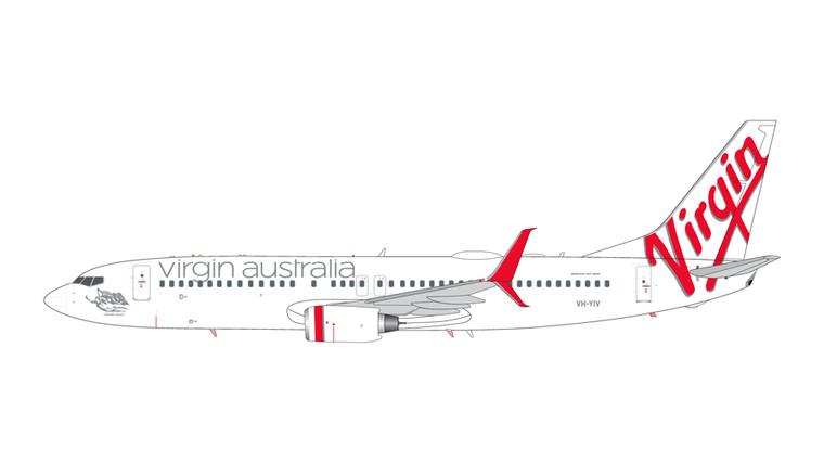 GeminiJets Virgin Australia Boeing 737-800 with Split Scimitar Winglets VH-YIV 1/200 G2VOZ496