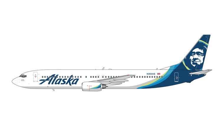 GeminiJets Alaska Airlines Boeing 737-900 N303AS 1/200 GJASA1872