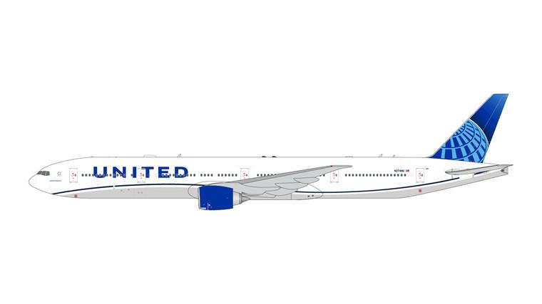GeminiJets United Boeing 777-300ER New Livery N2749U 1/400 GJUAL1922