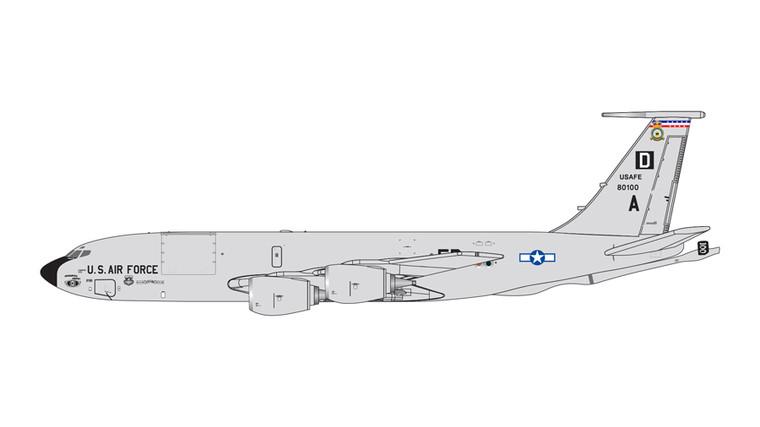 GeminiJets RAF Mildenhall KC-135R Stratotanker (Mildenhall AFB) 58-0100 1/400 GMUSA097