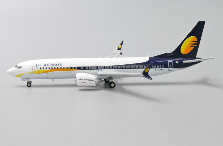 JC Wings Jet Airways Boeing 737-8Max VT-JXA 1/400 XX4057