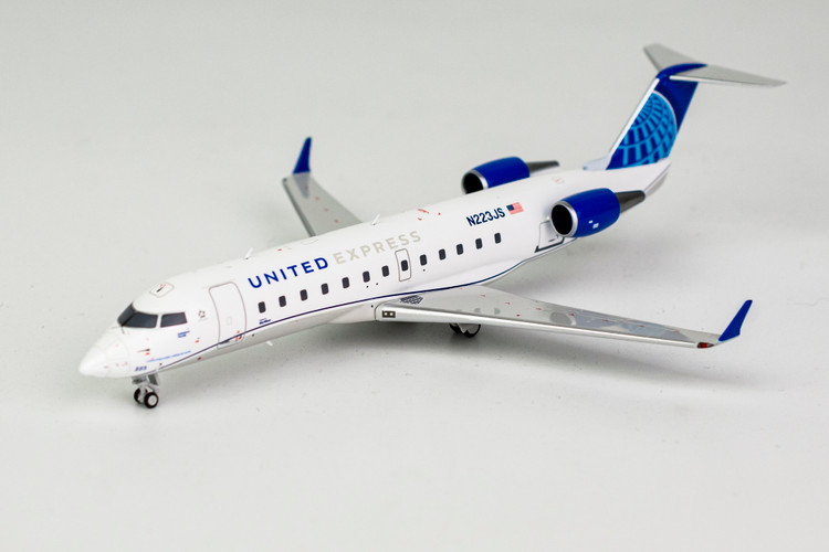 NG Models United Express CRJ-200ER '2019's new livery; Operated by SkyWest Airlines' N223JS 1/200 NG52038