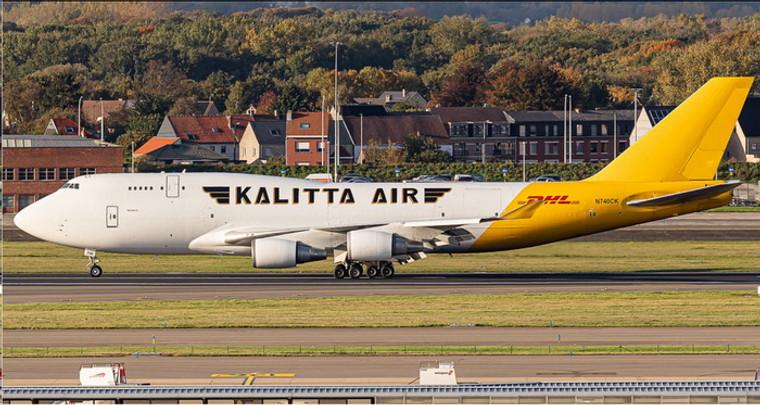 Phoenix Kalitta Air DHL Boeing 747-400F N740CK 1/400 PH04343