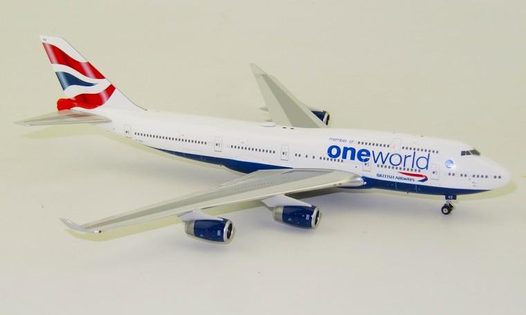 Phoenix British Airways Boeing 747-400 One World G-CIVZ 1/400 PH04349