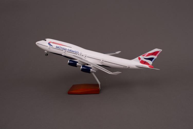 British Airways Boeing 747-400 Resin Aircraft Model G-CIVY (47 cm) 1/160