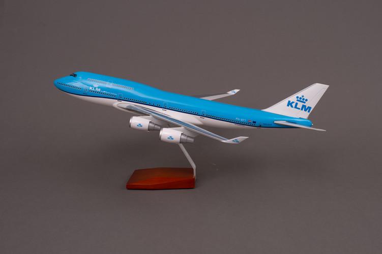KLM Boeing 747-400 Resin Aircraft Model PH-BFT (47 cm) 1/160
