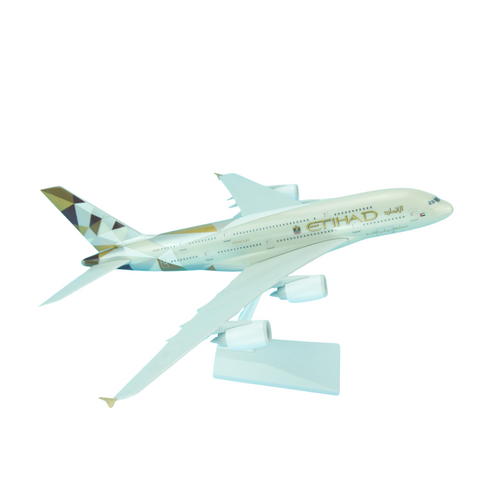 Etihad Airbus A380 1/200 Snap-fit ACX005