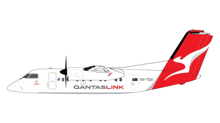 GeminiJets QantasLink Dash 8-200 VH-TQX 1/400 GJQFA1856