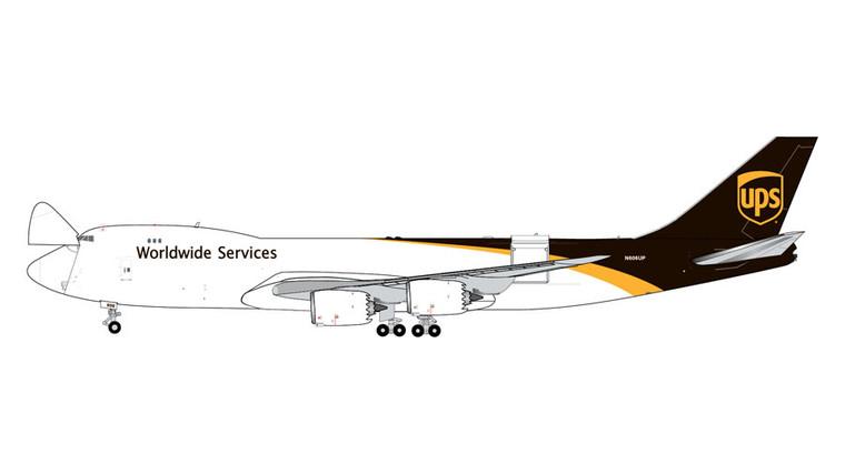 GeminiJets UPS Boeing 747-8F Interactive Series N606UP 1/400 GJUPS1899