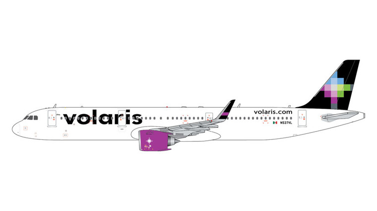 GeminiJets Volaris Airbus A321Neo New Livery N537VL 1/400 GJVOI1887