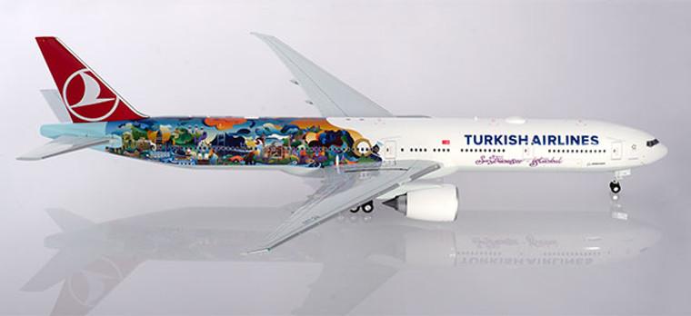 "Herpa Turkish Airlines Boeing 777-300ER ""Istanbul-San Francisco"" 1/200 557337"