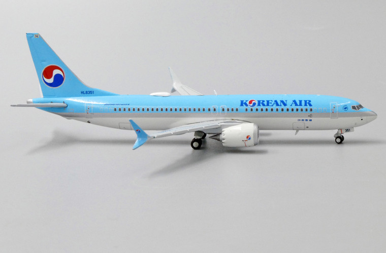 JC  Wings Korean Air Boeing 737-8Max HL8351 1/200 EW438M001
