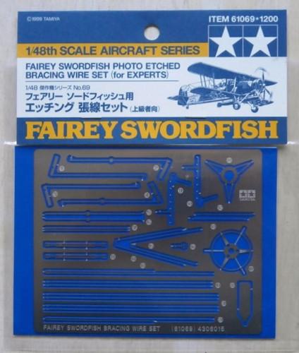 Tamiya Fairey Swordfish Mk.I Bracing Set 1/48 61069