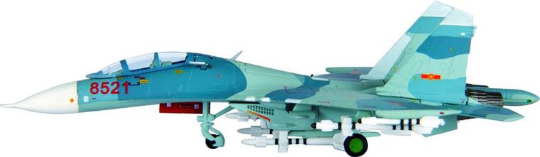 Hogan SU-27UB Vietnamese Peoples' Air Force 370th Air Division Phan Rang Air Base 1/200