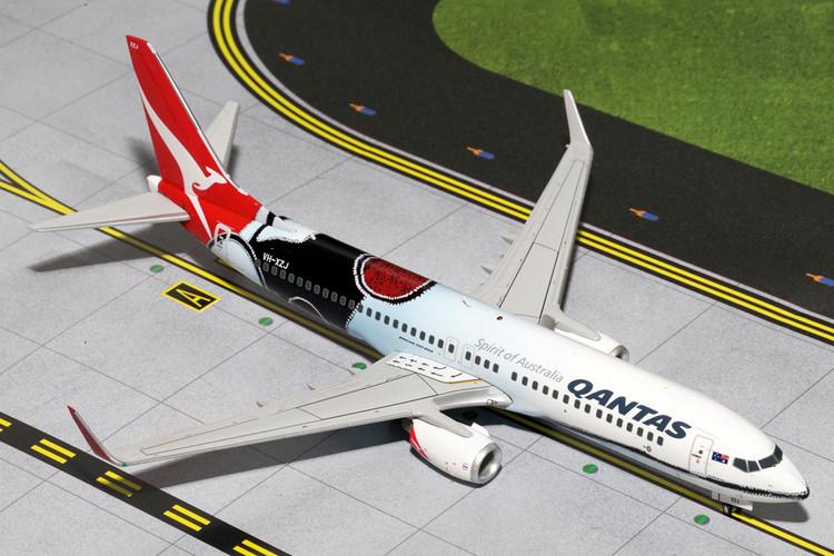 GeminiJets Qantas Boeing 737-800 'Mendoowoorrji' 1/200 G2QFA443