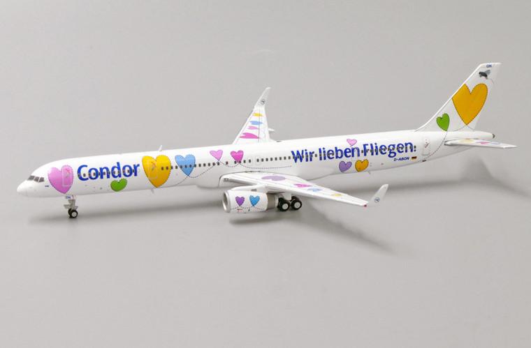 JC Wings Condor Boeing 757-300 Wir lieben Fliegen D-ABON 1/400 XX4154