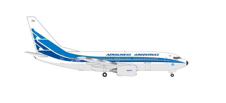 Herpa Aerolineas Argentinas Boeing 737-700 - 70th Anniversary Retro livery LV-GOO 1/500 534932