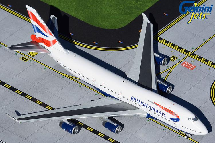 GeminiJets British Airways Boeing 747-400 G-CIVN 1/400 GJBAW1934