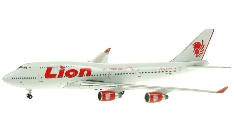 Apollo 400 Lion Airlines Boeing 747-412 1/400 A13053