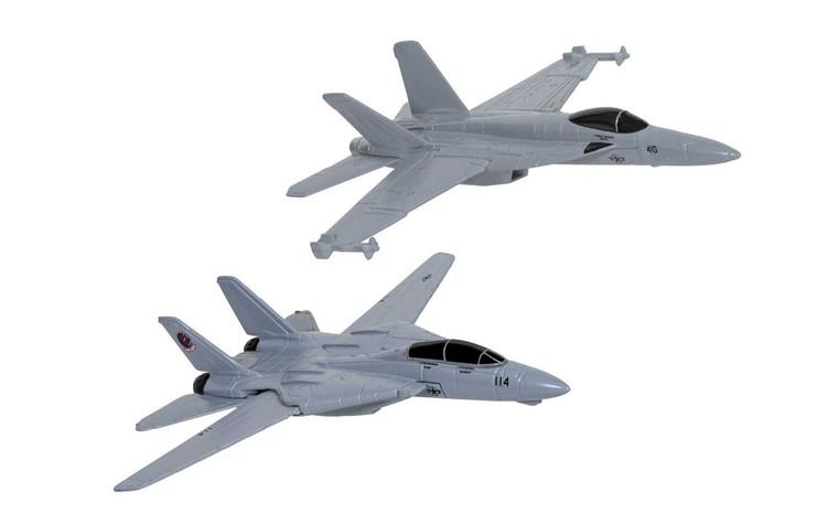 Corgi Maverick & Goose's F14® Tomcat® (Top Gun, 1986) and Rooster's F/A-18 Hornet™ (Top Gun Maverick, 2020) -  CS90682