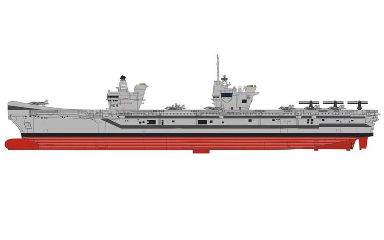 Corgi Prince of Wales Class Carrier 1 1250 scale - 1/1250 -CC75001