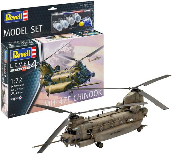 Revell Model Starter Set - MH-47E Chinook 1/72
