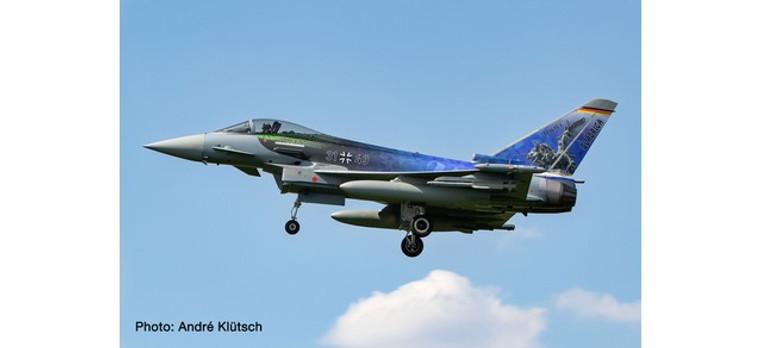 """Herpa Luftwaffe Eurofighter Typhoon - TaktLwG 31 (Tactical Wing 31) , Nörvenich Air Base """"Quadriga"""" – 31+49 1/72 580694"""