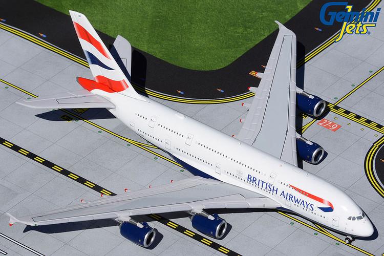GeminiJets British Airways Airbus A380 G-XLED 1/400 GJBAW1932