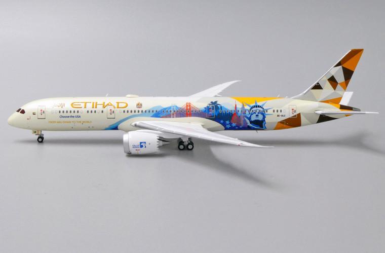 JC Wings Etihad Airways Boeing 787-9 'Choose the USA' A6-BLC 1/400 XX4250