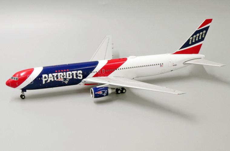 JC Wings New England Patriots Boeing 767-300ER N36NE 1/200