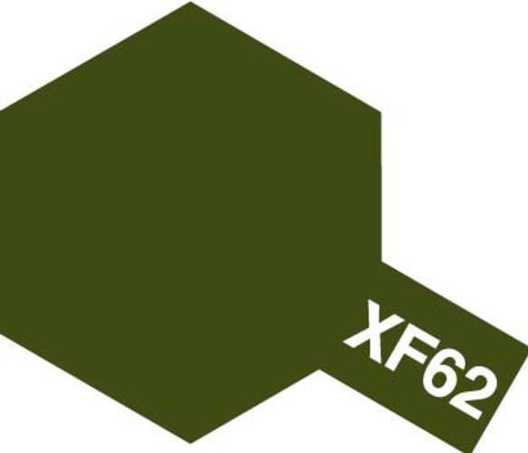 Tamiya Acrylic Mini XF-62 Olive Drab Paint 81762