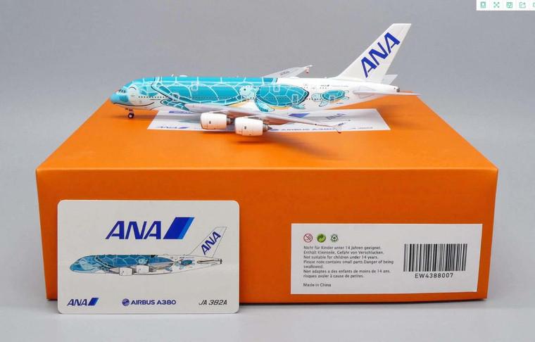 JC Wings ANA Airbus A380 Flying Honu - Kai Livery JA382A 1/400 EW4388007