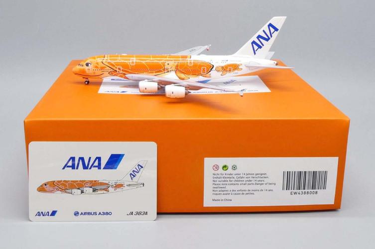 JC Wings Airbus A380 Flying Honu - Ka La Livery JA383A 1/400 EW4388008