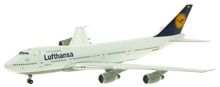 Apollo 400 Lufthansa Boeing 747-230BM Diecast 1/400