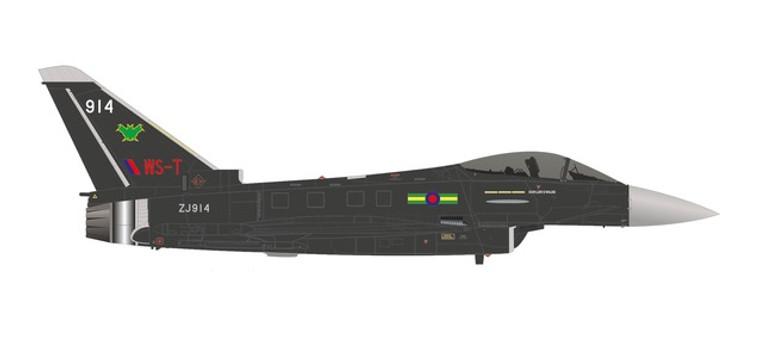 Herpa Eurofighter Typhoon - No IX(B) Squadron, RAF Lossiemouth 'Batman' 1/72 580700